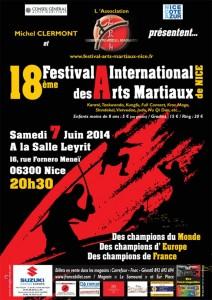 18ème Festival International des Arts Martiaux
